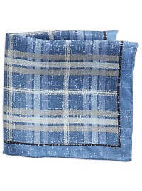 Rochester Plaid Pocket Square