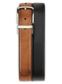 Tommy Hilfiger Leather-Look Reversible Stretch Belt