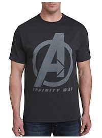 Marvel Comics Avengers Infinity Line Up Graphic Tee