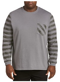 Society of One Stripe Pocket Sweatshirt