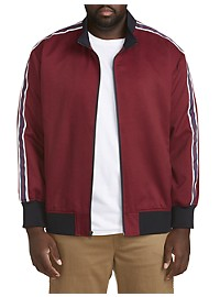 Twenty-Eight Degrees Side Stripe Track Jacket