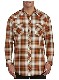 True Nation Plaid Western Shirt