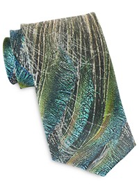 Rochester Designed in Italy Flyaway Feather Tie