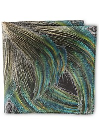 Rochester Designed in Italy Flyaway Feather Pocket Square