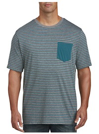 Harbor Bay Stripe Contrast Pocket T-Shirt