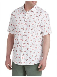 True Nation Watermelon Print Sport Shirt