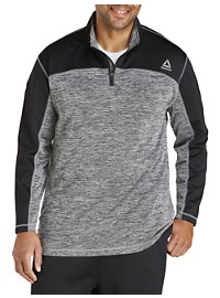 Reebok Performance 1/4-Zip Colorblock Pullover