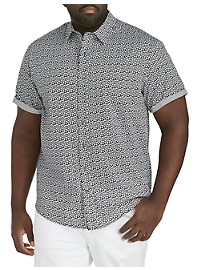 Synrgy Floral Sport Shirt