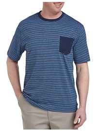 Harbor Bay Space Dye Stripe T-Shirt