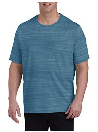 Harbor Bay Space Dye Pocket T-Shirt