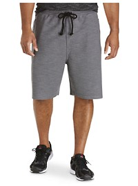 Reebok Exaggerated Heathered Sport Shorts