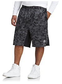 Reebok Camo Stripe Speedwick Basketball Shorts
