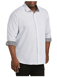 Twenty-Eight Degrees Dot Print Sport Shirt