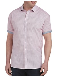 Twenty-Eight Degrees Geo Print Sport Shirt