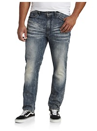 True Nation Taper Fit Stretch Jeans