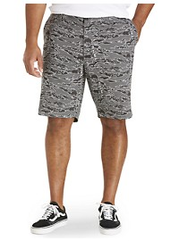 True Nation Stretch Camo Shorts