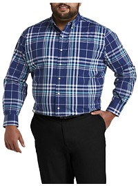Oak Hill Large Plaid Stretch Sport Shirt