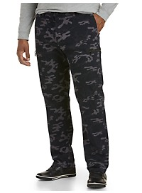 True Nation Athletic Fit Stretch Camo Cargo Pants