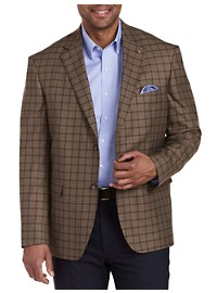 Oak Hill Jacket Relaxer Mini Check Sport Coat