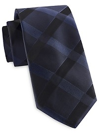 Synrgy InteliStretch Performance Large Tonal Plaid Tie