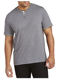 PX Clothing Twisted Henley