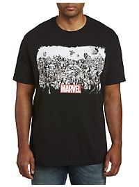 Marvel Comics All In One Graphic Tee