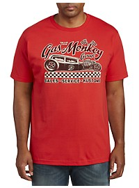 Gas Monkey Deuces Wild Graphic Tee