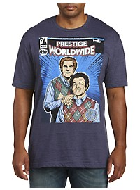 Step Brothers Comic Book Graphic Tee