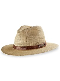New York Accessory Group Straw Fedora