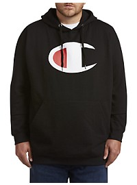 Champion Logo Pullover Hoodie