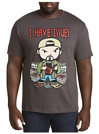 Kevin Smith I Have Issues Graphic Tee