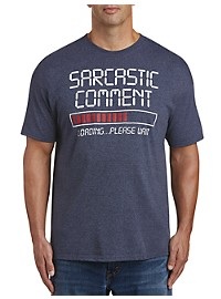 Sarcasm Incoming Graphic Tee