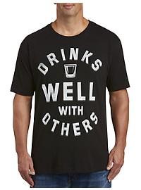 Drinks Well With Others Graphic Tee