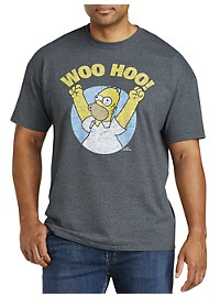 Homer Simpson Graphic Tee