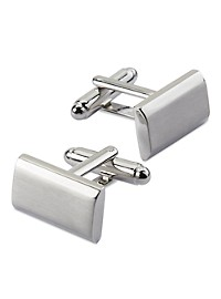 Gold Series Brushed Cuff Links