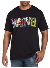 Marvel Comics Bright Graphic Tee