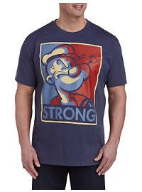 Popeye Strong Graphic Tee
