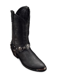 Dingo Concho Strap Harness Boot