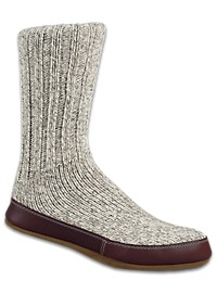 Acorn Ragg Wool Slipper Socks