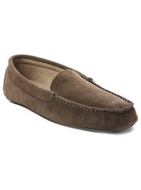 L.B. Evans Darren Terry-Lined Moc Slippers