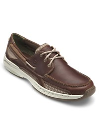 Dunham Captain 3-Eyelet Boat Shoes