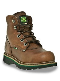 "John Deere 6"" Safety Toe Met Guard Work Boots"