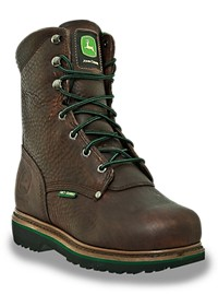"John Deere 8"" Safety Toe Met Guard Work Boots"