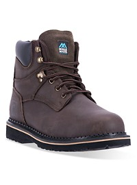 "McRae Industrial 8"" Lacer Slip-Resistant Steel Toe Work Boots"