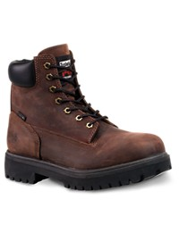 "Timberland PRO Direct Attach Waterproof 6"" Steel Toe Work Boots"