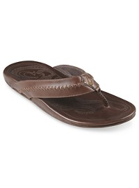 OluKai Mea Ola Leather Thongs