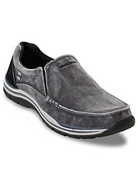 Skechers Avillo Canvas Slip-Ons