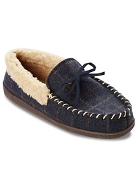 Dockers Classic Plaid Moccasins