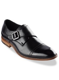 Stacy Adams Desmond Cap-Toe Monk Strap Dress Shoes