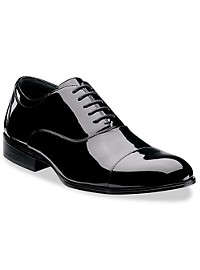 Stacy Adams Gala Cap-Toe Patent Oxfords
